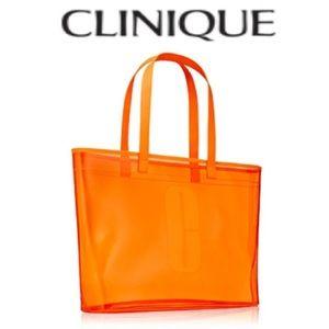 Clinique Orange Tote